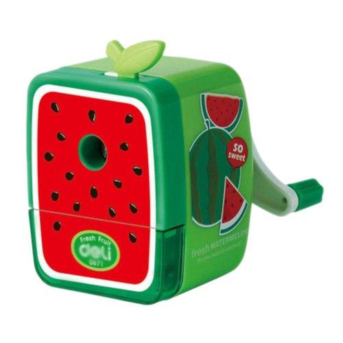Lovely Office & School Supplies Hand Rotating Pencil Sharpener - Watermelon