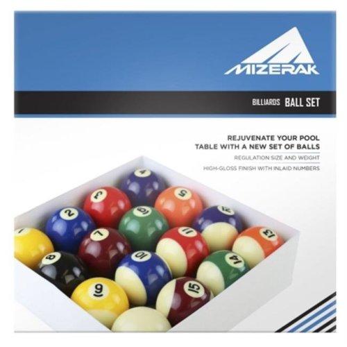 Escalade Sports P1819 Deluxe Billiard Ball Set