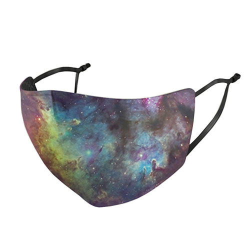 Unisex Mask Beautiful Starry Fashion Dust-proof Mask  Mouth Face Mask Summer Sunscreen Breathable,#5