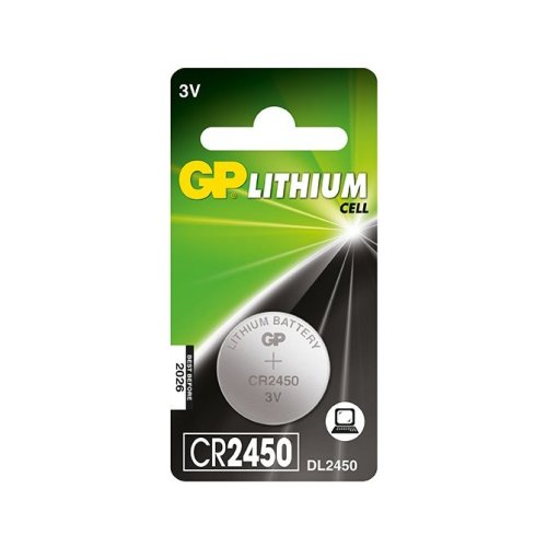 GP Batteries Lithium Cell CR2450 Lithium 3V non-rechargeable battery