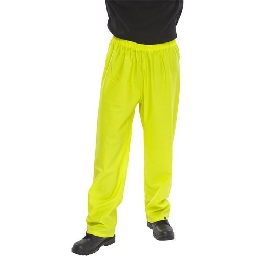 Click SBDTSYL Waterproof Over Trousers Saturn Yellow Large
