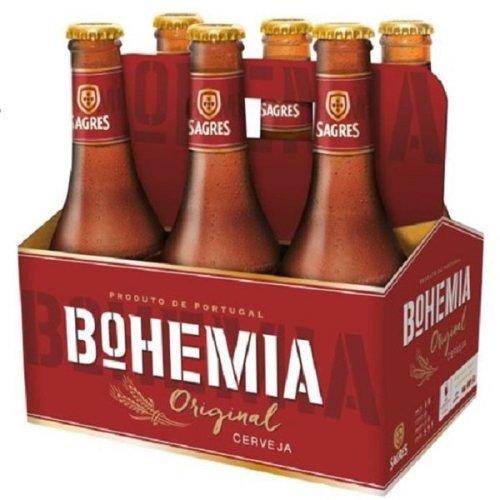 12 x Beer Sagres Bohemia Original 33cl