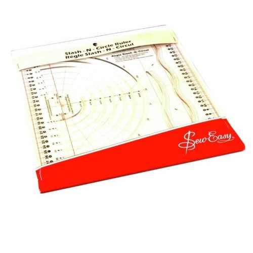 Sew Easy Template Slash 'n' Circle 31cm x 26cm