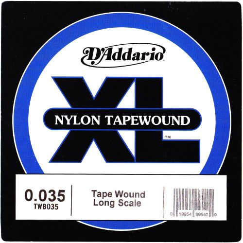 D'Addario TWB035 Bass Nylon Tapewound, Long Scale