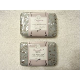 Trader Joes Lavender Triple Milled Soap (2 Pack)