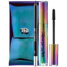 UD Urban Full Size Duo Set Troublemaker Mascara and 247 Zero Eye Pencil + Travel Pouch
