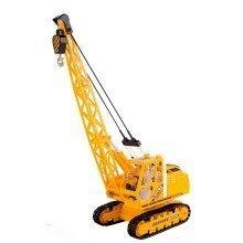 deAO Radio Control Deluxe 27MHz Yellow Heavy Construction Crane Excavator
