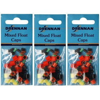 Drennan Mixed Float Caps  x 3