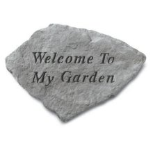 4139749df Kay Berry- Inc. 60320 Welcome To My Garden - Garden Accent - 11 Inches x  7.5 Inches