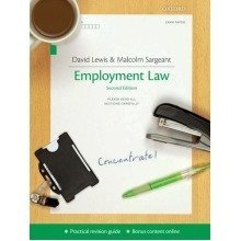 Employment Law Concentrate: Law Revision and Study Guide