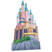 Star Cutouts Princess Castle Cardboard Cut Out, Multi-Colour