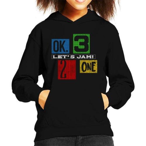 Lets Jam Cowboy Bebop Kid's Hooded Sweatshirt