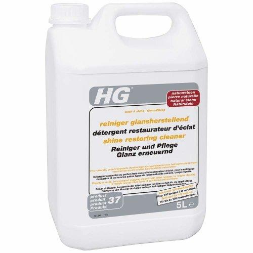 HG shine restoring cleaner for natural stone 5L - A shine restoring cleaner for marble and natural stone floors.