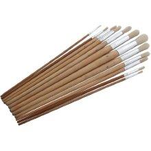 12pc Round Tip Art Brush Set - XL -  round brush set artist 12 head 12pc tip craft amtech s4146 piece