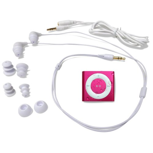 Underwater Audio NEW! Hot Pink Waterproof Swimbuds Bundle iPod