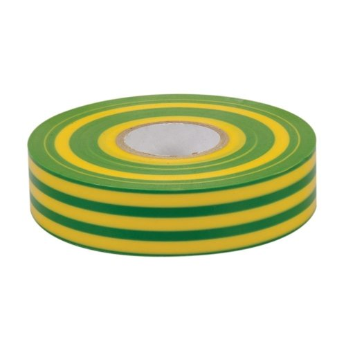 19mm x 33m Green & Yellow Insulation Tape - Fixman Green 192227 Electrical -  insulation tape 19mm x 33m fixman greenyellow 192227 electrical