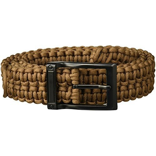 TIMBERLINE Paracord Survival Belt Coyote Tan Small