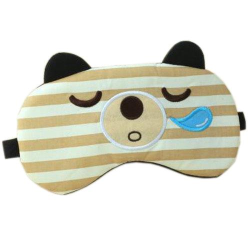 Home/Travel Lightweight Cute  Sleep Mask Eye Mask Eye Cover, Yellow Stripe