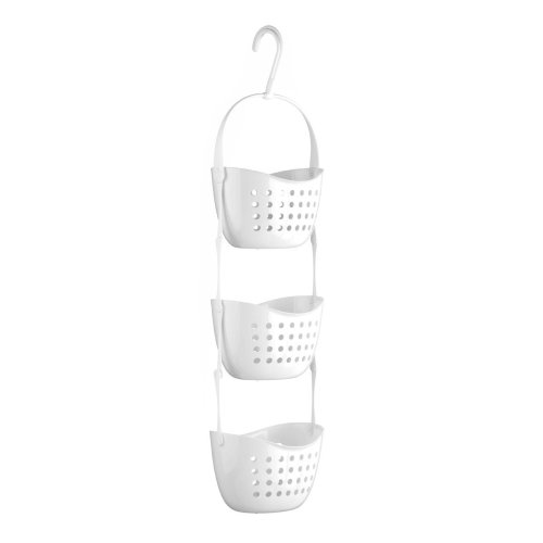 3-Tier Shower Caddy - White