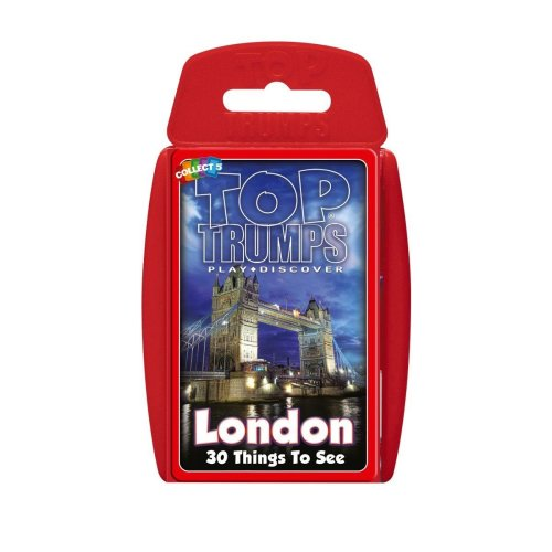 London - 30 Things to See Top Trumps Classics