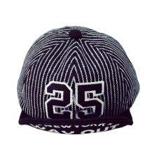 [25 Black] Fashion Baby Woolen Cap Kids Warm Winter Baseball Cap