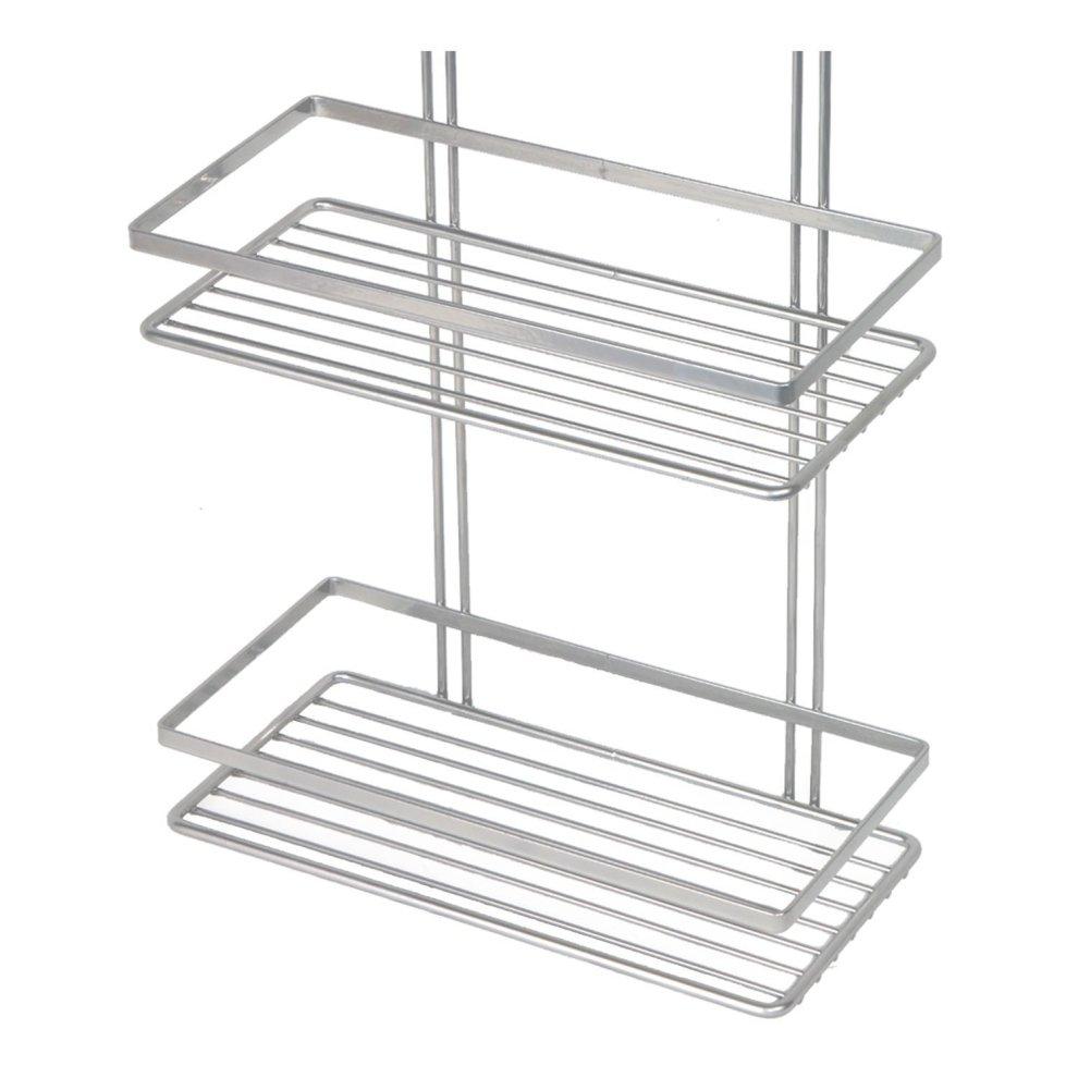 ... 3-Tier Silver Wall-Mounted Shower Caddy | Rustproof Shower Basket - 1  ...