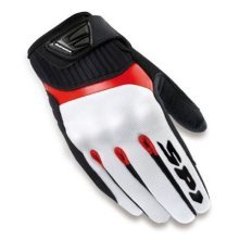 Spidi G-Flash Lady Motorcycle Gloves, Black/Red, S