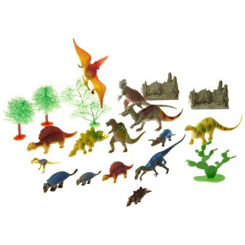 Wild Republic Dinosaur Bucket with 23 pieces