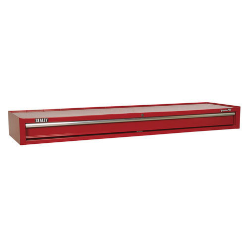 Sealey AP6601 1 Drawer Add-On Chest with Ball Bearing Runners Heavy-Duty - Red