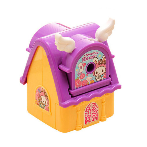 Kids Cute  Manual Pencil Sharpener For Classroom School Stationery,Sweet  house