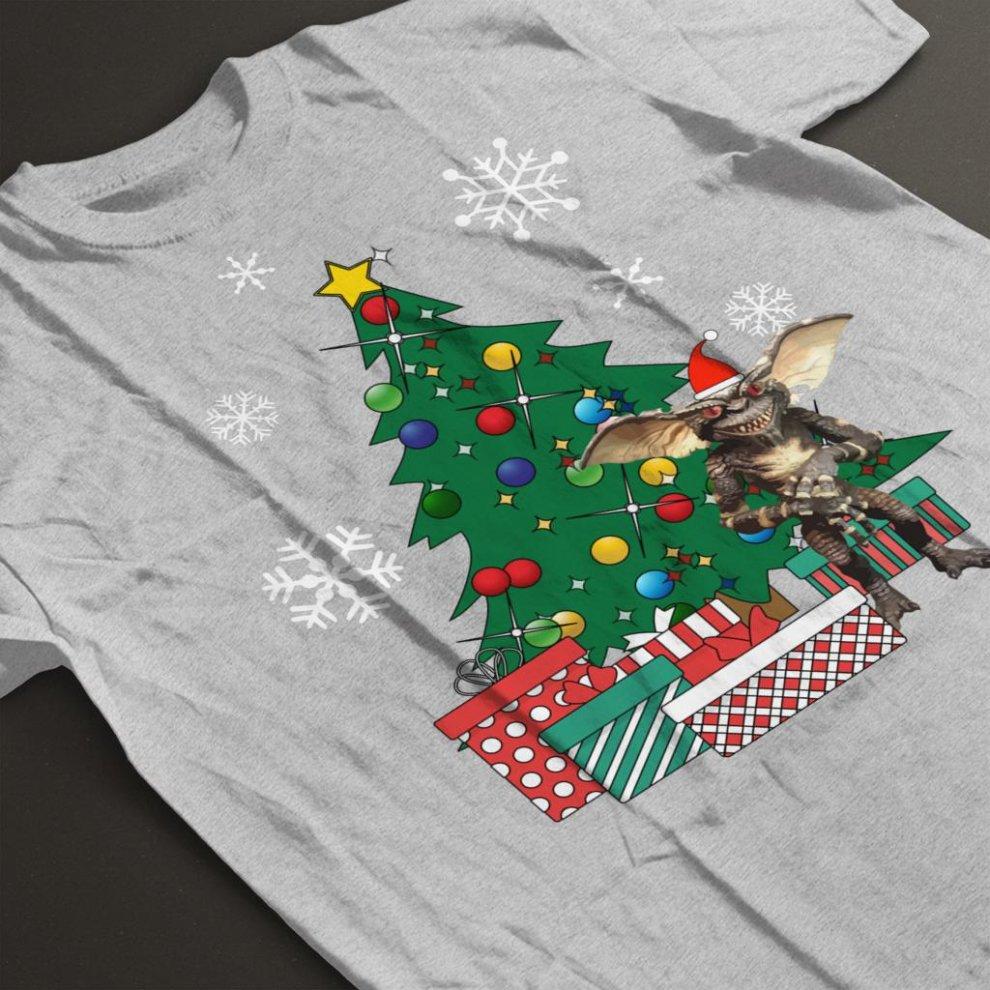 49f775777 Gremlin Around The Christmas Tree Men's T-Shirt on OnBuy