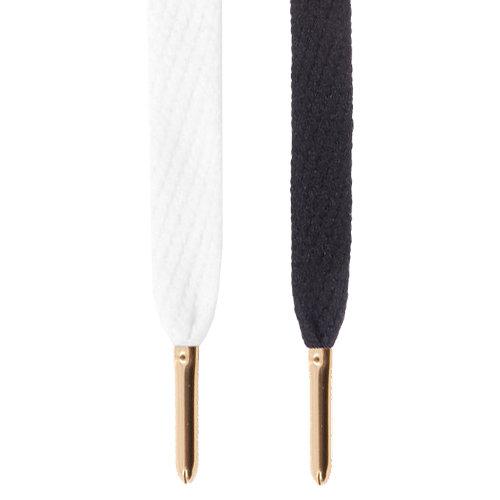 Mr Lacy Flatties Metal Tips Fashion Shoelaces Shoe Laces