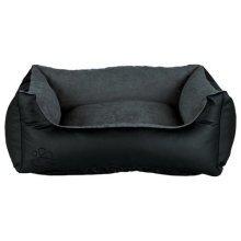 Bino Bed, 120 × 80 Cm, Black/grey - Trixie Bed Blackgrey Dogs Various Sizes New -  trixie bed bino blackgrey dogs various sizes new