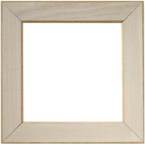 """Wooden Frame 6""""X6""""-Taupe"""