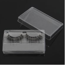 1Pc False Eyelashes Box Clear Transparent Reusable Portable Eye Lash Packing Boxes