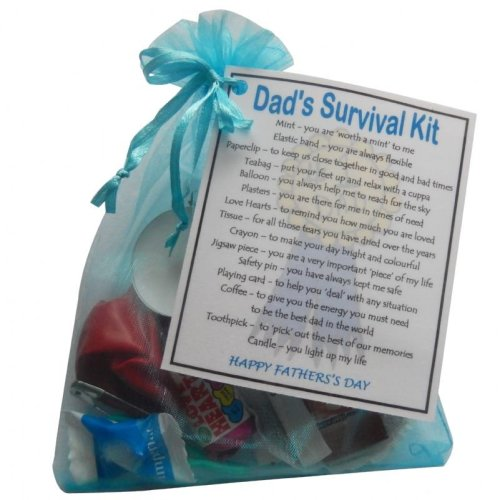 Dad's Survival Kit Gift for Father's Day - A great novelty gift