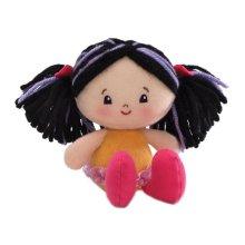 "Gund Hailey Girlies 5"" Doll, Black"