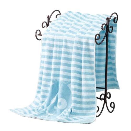 Elegant Bath Towel Beach Towel Soft & Comfortable Towels Set, Strong Water Absorption #09