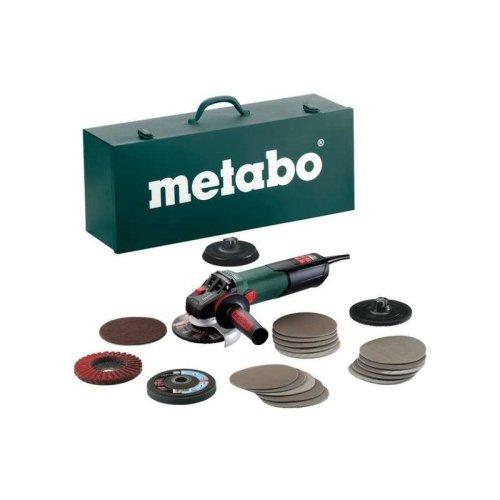 Metabo WEV 15-125 Quick Inox SET Angle Grinder 240V