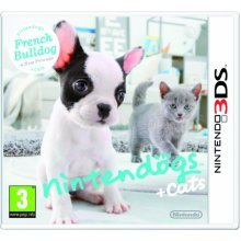 Nintendogs + Cats: French Bulldog & New Friends (Nintendo 3DS)