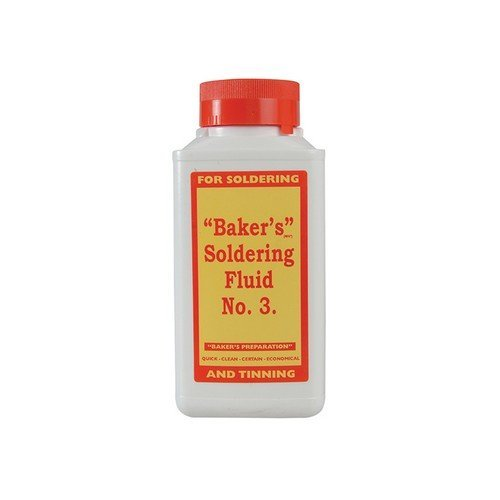 Bakers 61038 No.3 Soldering Fluid 250ml