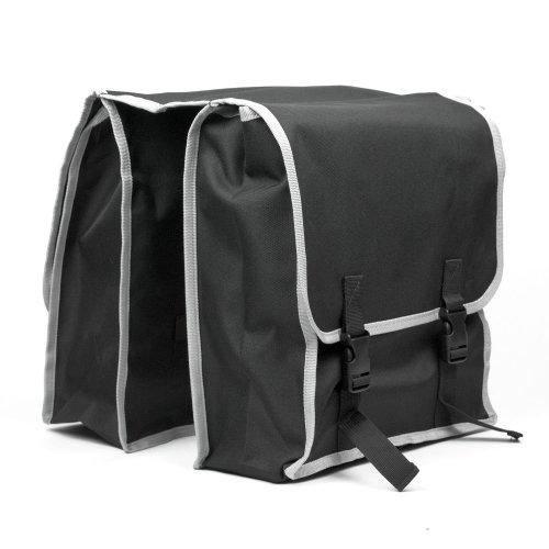 Large Double Pocket Bike Bicycle Rear Rack Pannier Bag/Water Resistant
