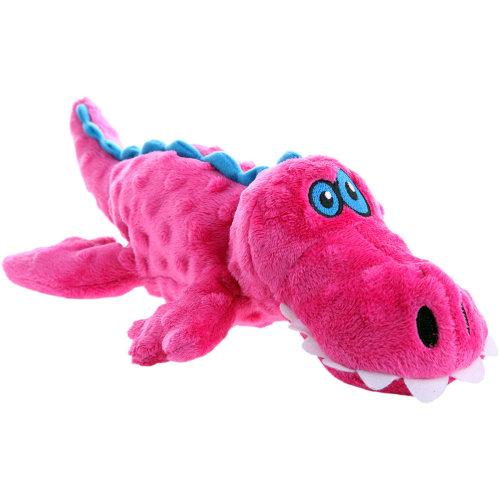 goDog Gator with Chew Guard Large-Pink