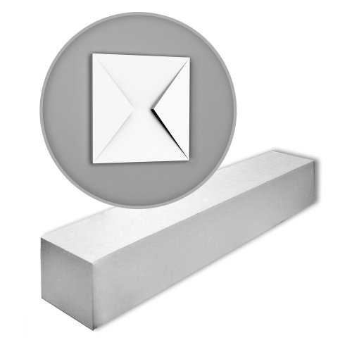 Orac Decor W106-box MODERN ENVELOP 3d wall panels 1 Box 5 pieces | m