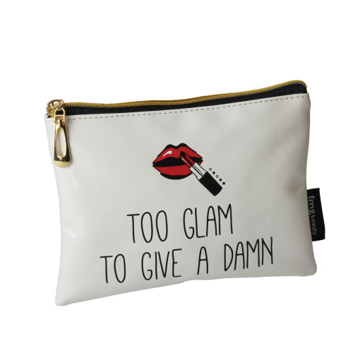 FMG Mini Cosmetics Make Up Pouch, Too Glam