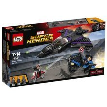 LEGO Super Heroes 76047 Captain America Civil War Black Panther Pursuit Playset
