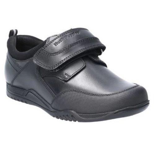 Hush Puppies Boys Noah Junior Touch Fastening Leather School Shoe
