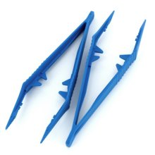 Pack Of 2 Plastic Tweezers -  2 jeweltool x plastic tweezers pack