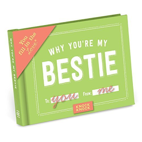 Knock Knock Why You're My Bestie Fill in the Love Journal (Fill-in-the-Blank Journal)