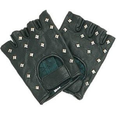 Padded Palm Studded Mitts